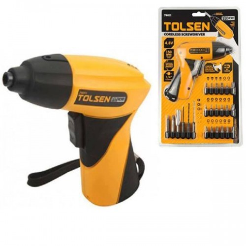 Tolsen rechargeable 24 in 1 screwdriver set