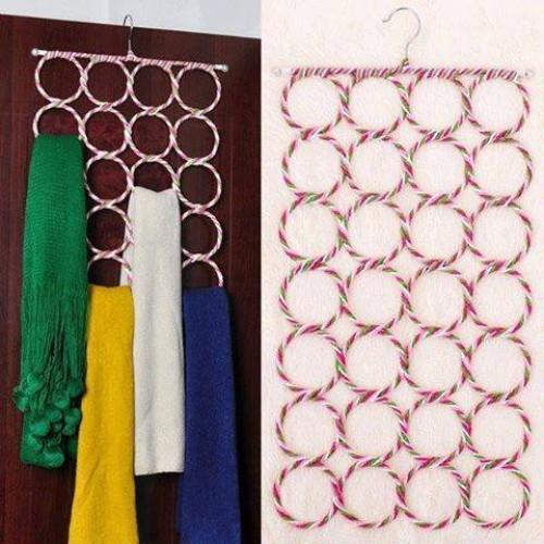 Multifunctonal hijab and scurf rack
