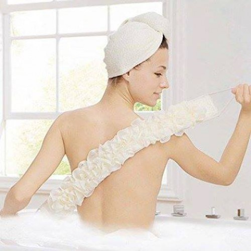 Loofah cloth for shower