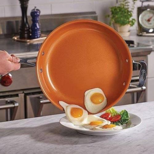 Copper Fry Pan