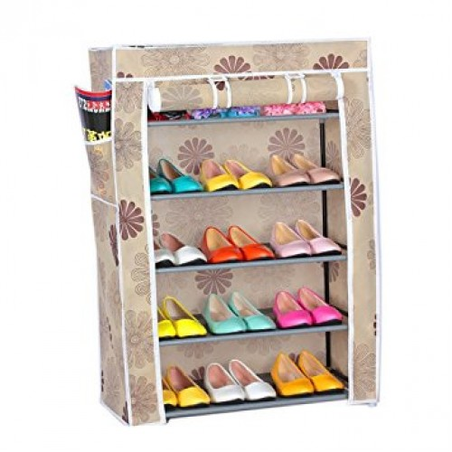 4/5 Layer Shoe Rack and Wardrobe Rack