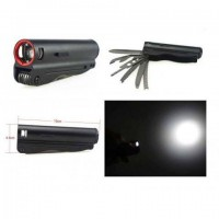 Multi functional glare torch with tool kit