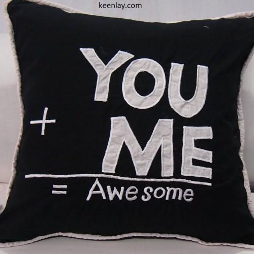 Exclusive Applique Cushion Cover