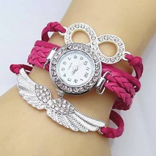 Exclusive Crystal wing watch