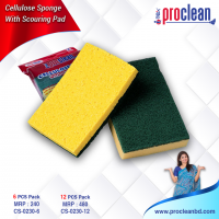 Cellulose Sponge With Scouring Pad_CS-0230