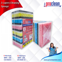 3 Layers Cleaning Sponge_CS-0520
