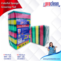 Colourful Sponge Scourinf Pad(Big)_CS-0490