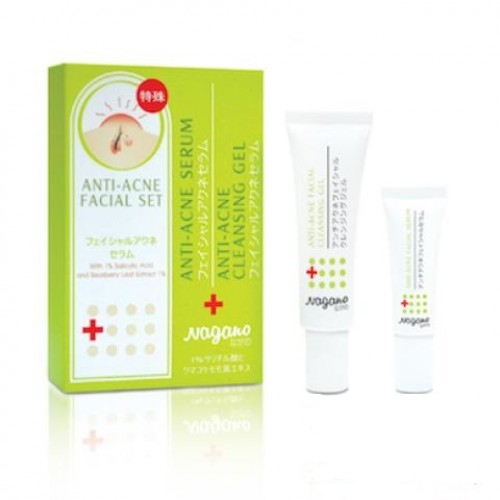 ANTI-ACNE FACIAL SET (SERUM & CLEANSING)