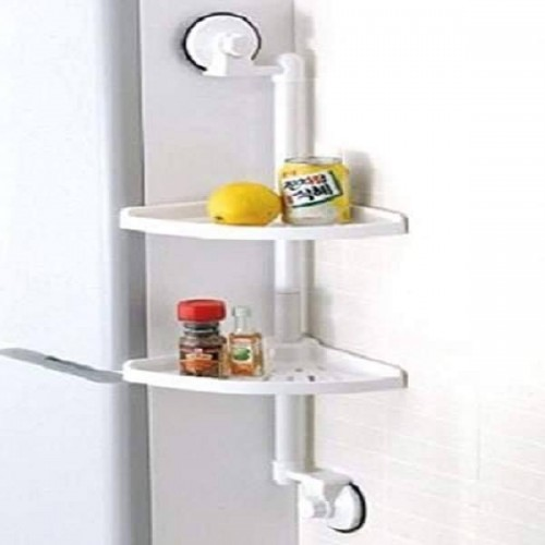 Double Suction Cup Corner Rack