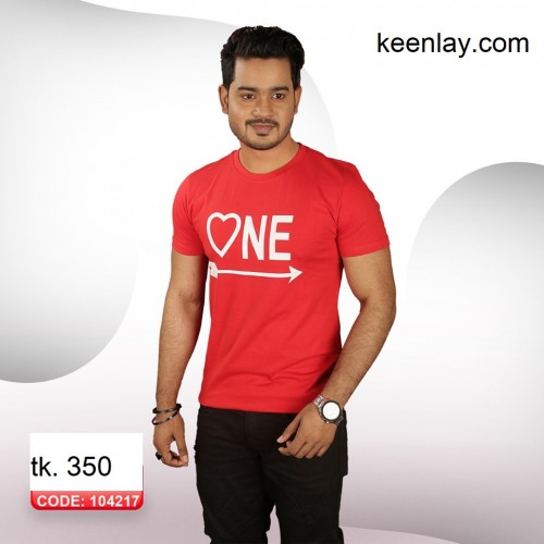 Valentines T-shirt[1pc]