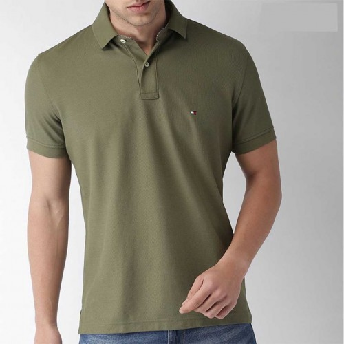 Polo T Shirt-Olive