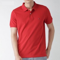 Polo T Shirt-Red