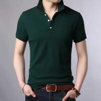Half sleeve polo shirt for man's