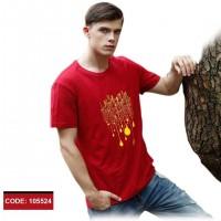 Men's Half Sleeve Cotton T-Shirt