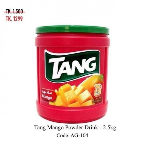 Tang Mango Powder Drink 2.5kg