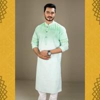 Men's Stylish Semi Long Punjabi