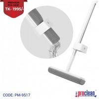 Microfiber 180 Degree Premium PVA Flat Mop Floor Cleaning Mop