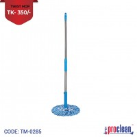 Proclean Twist Mop Microfiber Twist Mop For Floor Cleaning Floor Mops Self Wringing Mop With Wringer Self Wringing Mop Commercial Telescopic Mop With Stainless Steel Handle