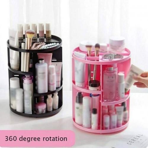 360-degree Rotating Makeup Organizer Brush Holder