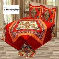 100% cotton PANEL bed sheet