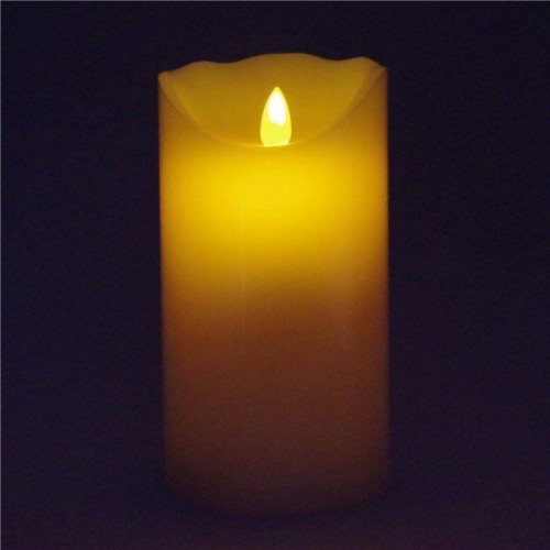 White color LED romantic candle